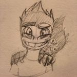 Drawing Challenge Day 258: Crazyplier by hayy1