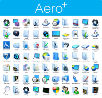 Aero+ Iconpack Installer for Windows 7 by UltimateDesktops