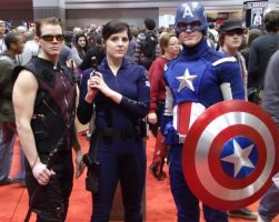 Avengers Assemble @ C2E2 2012 by MonkeySquadOne