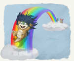 Rainbow Wahoho by Danilee3240