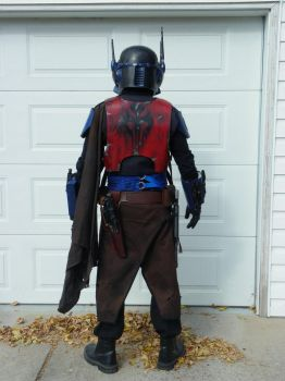 Mandalorian Mercenary Back Photo by TheCabinetmaker