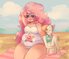 girlz bein pals by Screamsicle