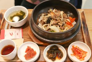 Dolsot bibimbap again by patchow