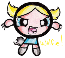 Evil PPG - WolfGirl by Umby