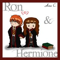Ron LOVES Hermione by Ana-D