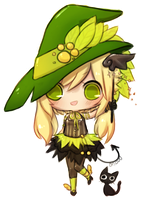 gift - greenwitch by onisuu
