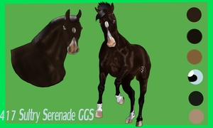 417 Sultry Serenade GGS - Approved by Horse-Emotion