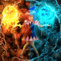 Cirno. -Manipulation of Cold- by FlyingGinger