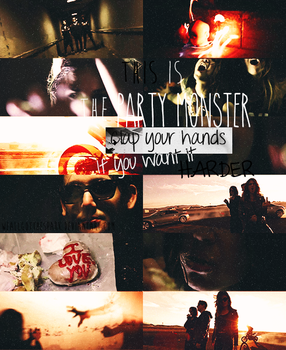 Party Monster|COLLAGE| by WeAllGotTheSpark