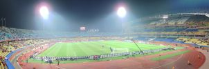 Rustenburg stadium - panorama by raxm