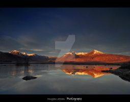 Loch Tulla , Blackmount by DL-Photography