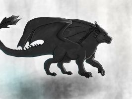 Toothless by Wolf7FC
