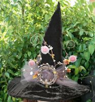 Chocolate Pomegranates Witch by mermaidencreations