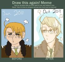 Improvement Meme of 10 Months by roses-and-phantoms