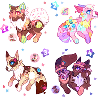 Dessert Adopts 006 // AUCTION // CLOSED by cieIIa