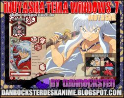 Inuyasha Theme Windows 7 by Danrockster