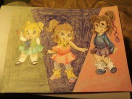 The Chipettes Anime by allieseville1