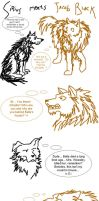 Sirius Black meets Jacob Black by padfoot2012