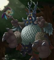 Carried to Battle by teaselbone