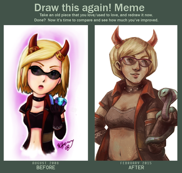 Draw This Again and Again by mondays-noon