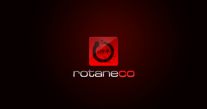 rotaneco logotype test 1 by rotane