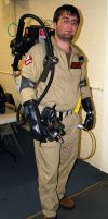 My Ghostbusters Outfit by sonicblaster59