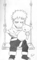 Young Gaara by Milloune