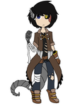 Apocalyptic-Steampunk Custom by Wolfie-Bases-Adopts