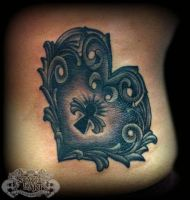 Herat Locket by state-of-art-tattoo
