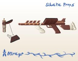 Sikata's Weapon by spiralstatic13