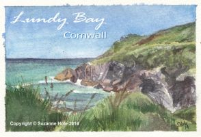 Lundy Bay, near Polzeath in Cornwall by SuzanneHole