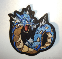 Patch commission: Gyarados by goiku