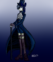 Ciel Phantomhive Commission by fluffpuffgerbil