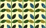 Patterned Leaves Wallpaper by DJCandiDout