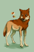 Wolf Auction: Brown Sugar (closed) by Pred-Adopts
