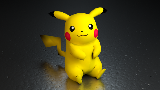 #025. Pikachu by TheAdorableOshawott