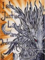 ACEO Judgement Dragon by BlackChaos666