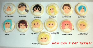 Organization XIII COOKIES by ryuchan