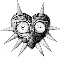 Majora's Mask by Roae