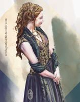 Margaery Tyrell Speed Paint 2.0 by zerda-vulpes