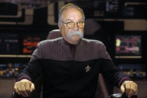 Wilford Brimley Cptn. Picard by Kyle-M-Boyko