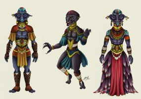Dress/clothes Concepts by Mclawliet