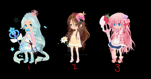 FREE Write-to-Adopts 1 CLOSED. [ADOPTABLES] by PastelLights