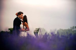 Lavender wedding by Obsessed-by