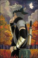 Youth Kakashi by Sherlock2008