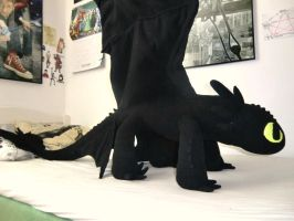 Toothless plush 4 by Sherlockian