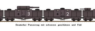 German Armoured Train by FlavourFabe