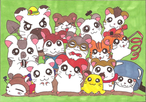 Hamtaro by frecklesmile