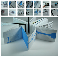 Flow book and invitation set by artdude85