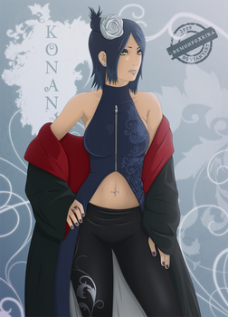Konan by DemonFoxKira